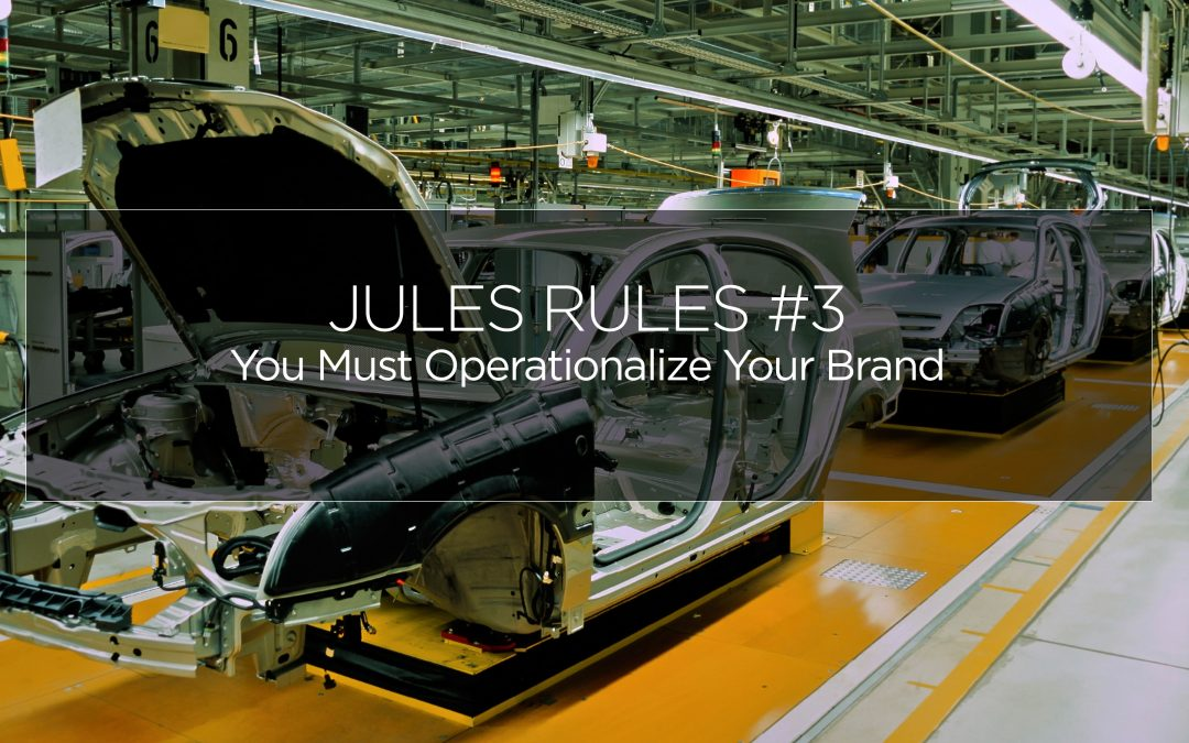 Operationalization of Your Brand