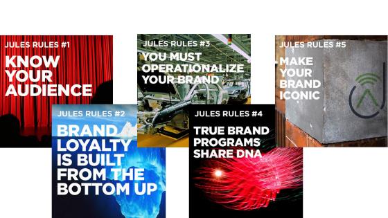 Five Branding Rules